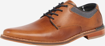 Pantofi cu șireturi de la BULLBOXER pe maro