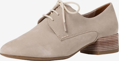 TAMARIS Lace-up shoe in nude, Item view