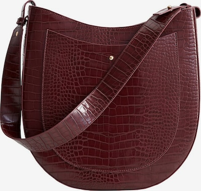 VIOLETA by Mango Tasche 'mountain' in bordeaux, Produktansicht