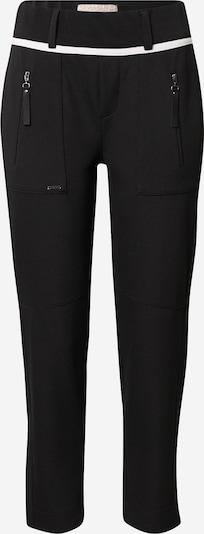 STREET ONE Pantalon en noir / blanc, Vue avec produit