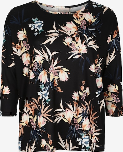 ONLY Carmakoma Shirt 'CARALBA' in de kleur Gemengde kleuren / Zwart, Productweergave