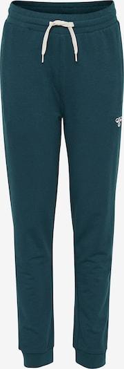 Hummel Jogginghose 'Pless' in dunkelgrün, Produktansicht