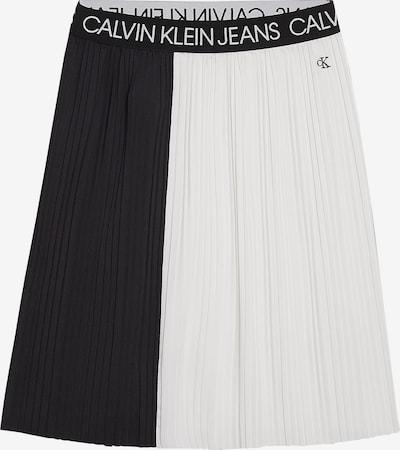 Calvin Klein Jeans Rock in schwarz / weiß, Produktansicht