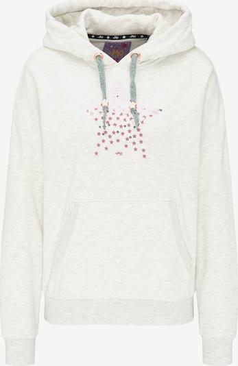 MYMO Hoodie in rosé / weißmeliert, Produktansicht