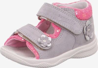 SUPERFIT Sandale 'Polly' in grau / pink, Produktansicht