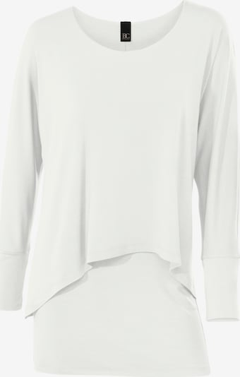 heine Rundhalsshirt in creme, Produktansicht