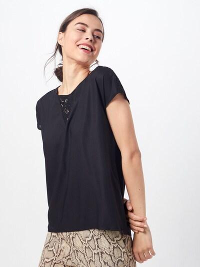 VERO MODA Blusenshirt 'DEBBIE' in schwarz, Modelansicht