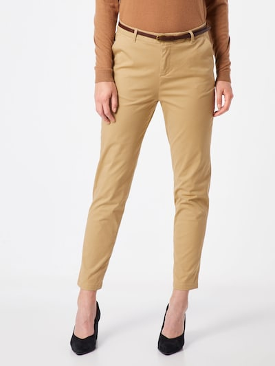SCOTCH & SODA Pantalon chino 'Ams Blauw' en sable: Vue de face