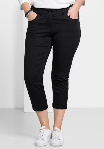 Pantaloni SHEEGO pe negru, Vizualizare model