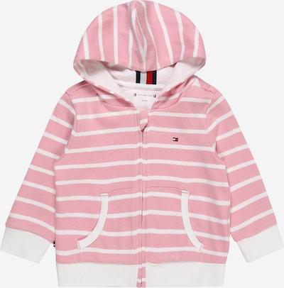 TOMMY HILFIGER Sweatshirt in pink / weiß, Produktansicht