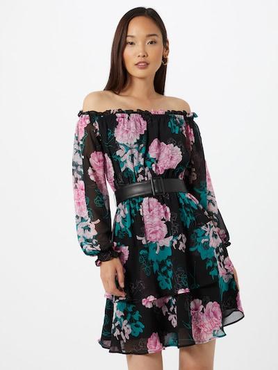 GUESS Kleid 'Hannah' in mischfarben / schwarz, Modelansicht