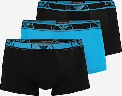 Emporio Armani Boxershorts in de kleur Turquoise / Zwart, Productweergave