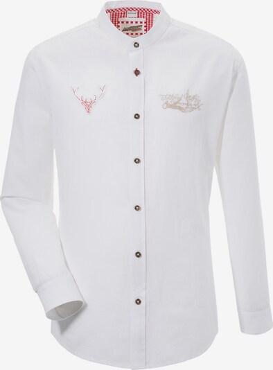 Andreas Gabalier Kollektion Trachtenhemd in weiß, Produktansicht