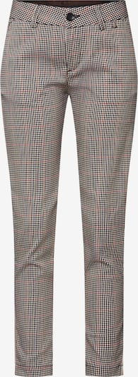 Chino stiliaus kelnės 'Lovely Poly Stripe Check' iš Herrlicher , spalva - smėlio: Vaizdas iš priekio
