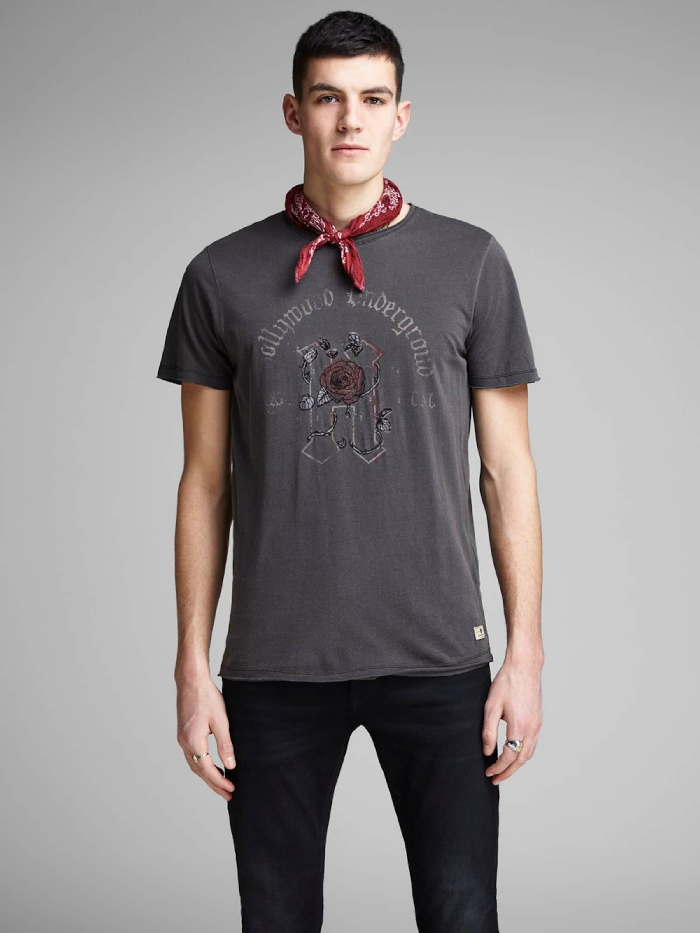 Jones FoncéAnthracite Jackamp; T shirt En Brun 3A4Rjc5Lq
