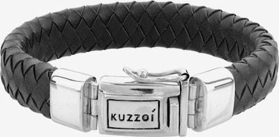 KUZZOI Armband in anthrazit / silber, Produktansicht
