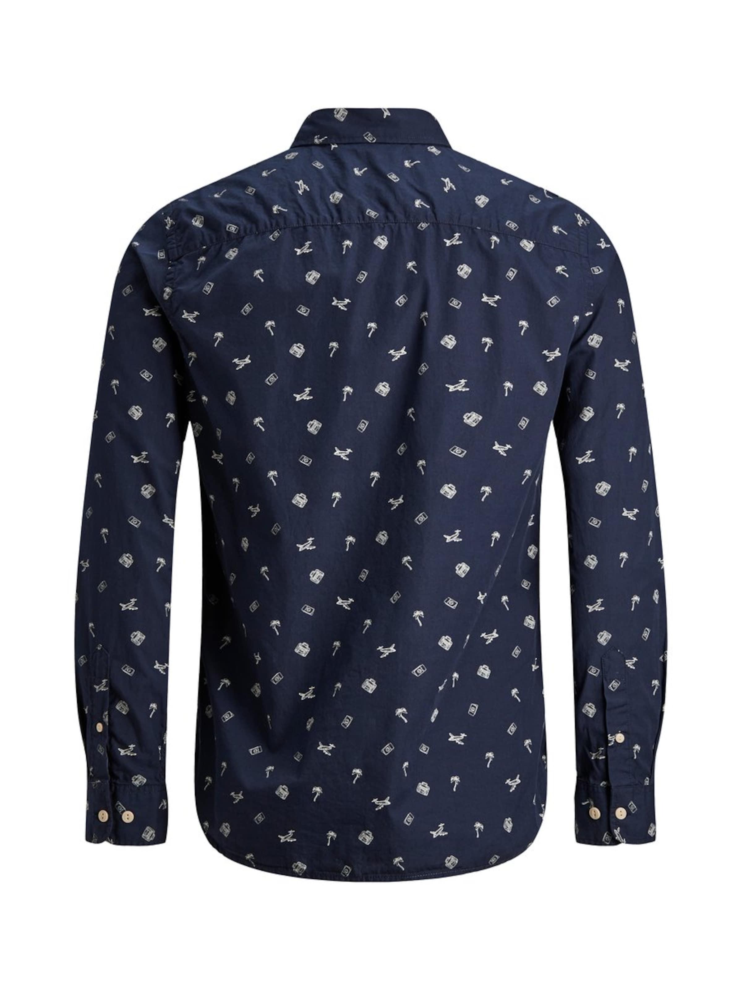 NachtblauMischfarben Hemd Jones Jackamp; Jones Jackamp; Hemd In Okn0w8P