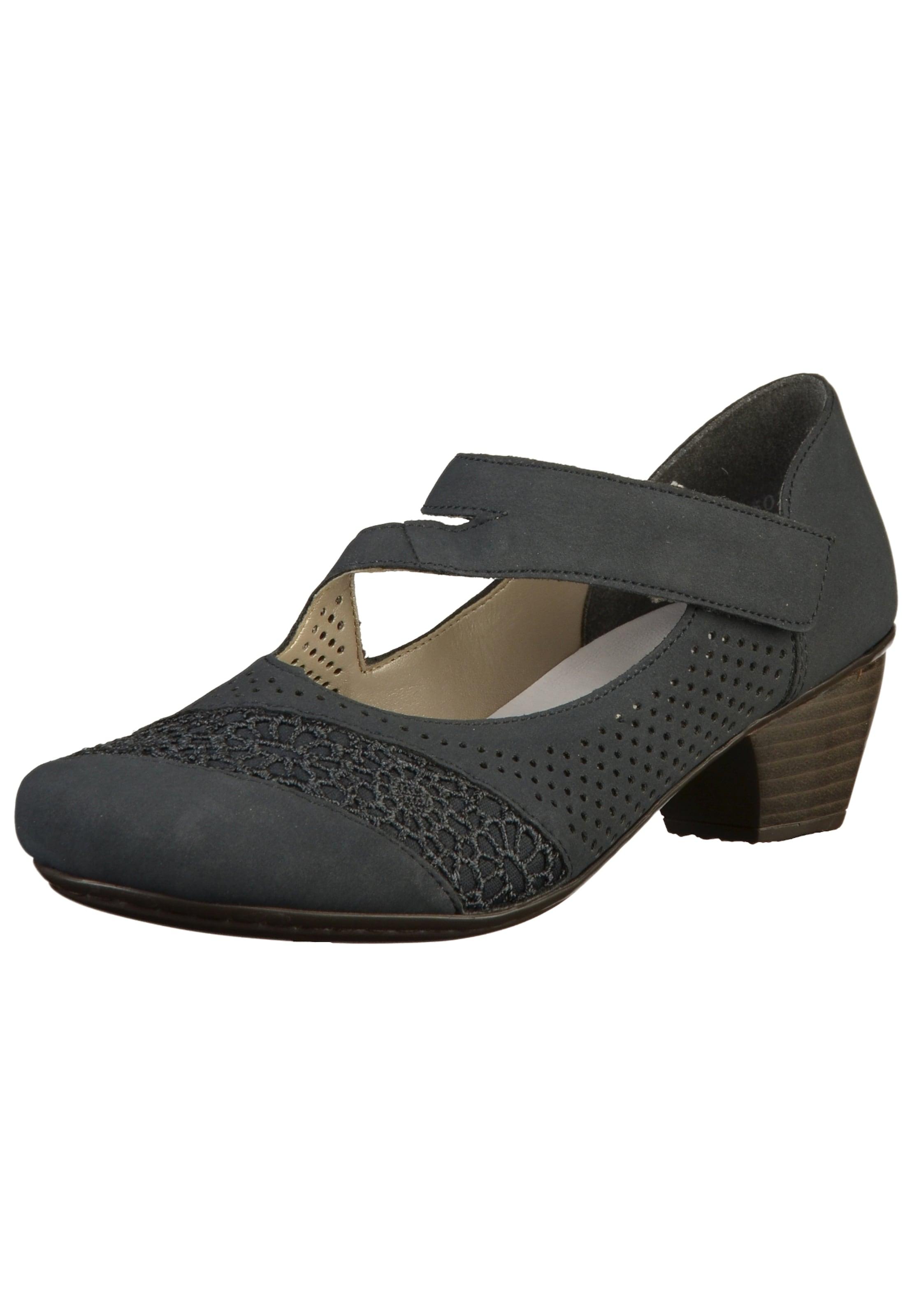 Haltbare Mode billige Schuhe RIEKER | Riemchen-Pumps Schuhe Gut getragene Schuhe