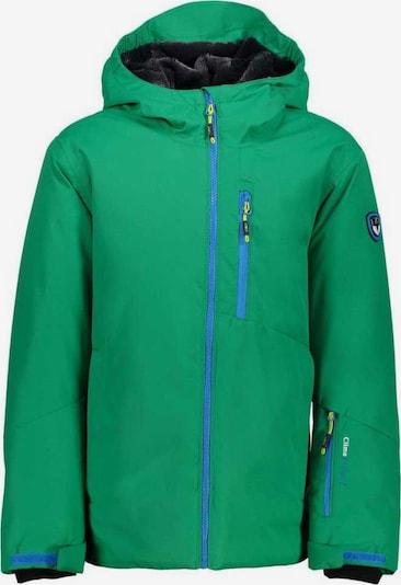 CMP Jacke 'Boy Jacket Fix Hood' in grün, Produktansicht