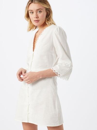 GLAMOROUS Kleid in weiß, Modelansicht
