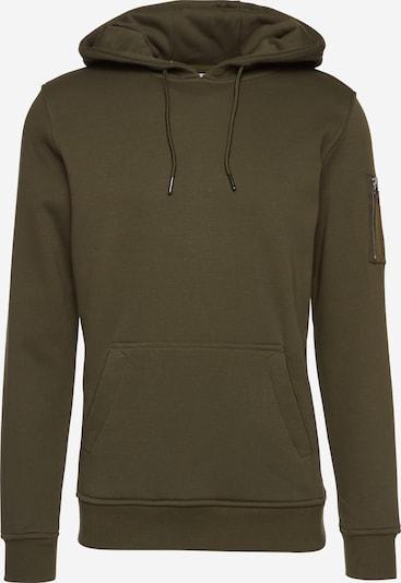 Urban Classics Sweat-shirt en olive, Vue avec produit