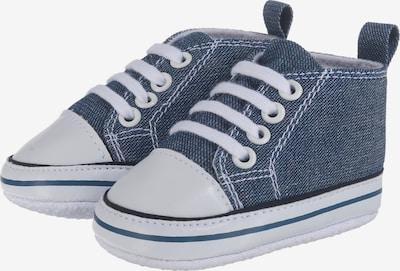 PLAYSHOES Schuhe in blue denim / weiß, Produktansicht