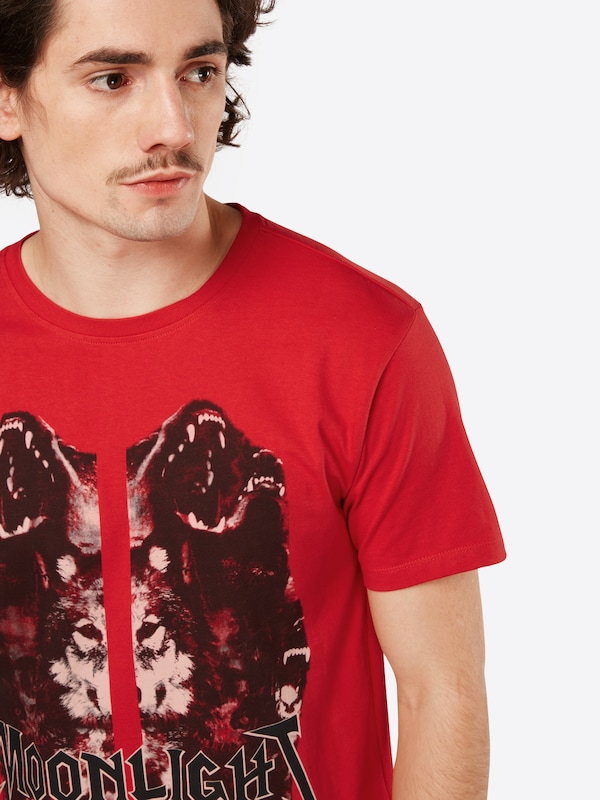 The Kooples T-Shirt 'SERIGRAPHIE LOUP'