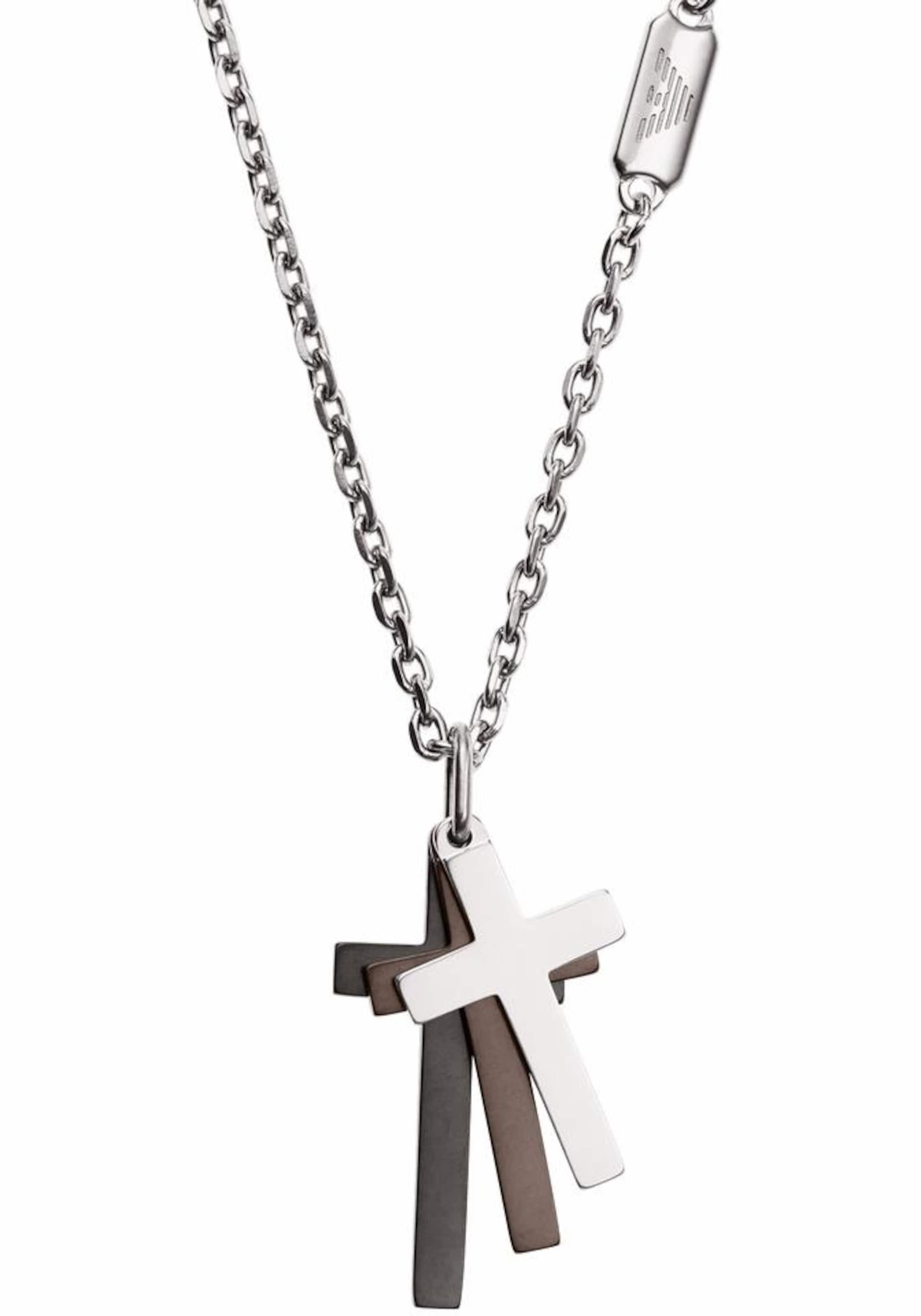 Emporio Armani Kreuzkette 'SIGNATURE, EGS2472040'