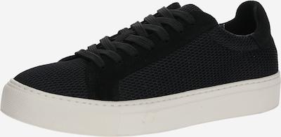 SELECTED FEMME Sneaker 'DONNA' in schwarz / weiß, Produktansicht