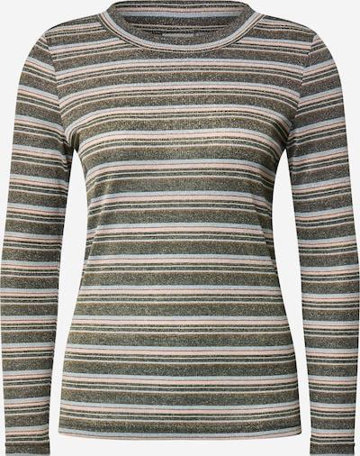 ICHI T-shirt 'IHFERONA LS2' i beige / ljusblå / ljusrosa / svart, Produktvy
