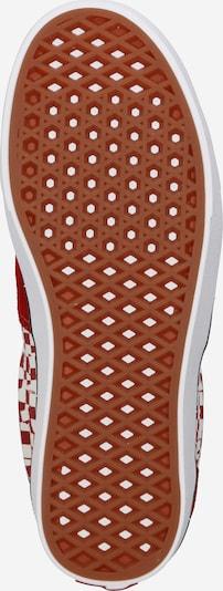Sneaker low 'UA ComfyCush Era' VANS pe roșu / alb: Privire de sus