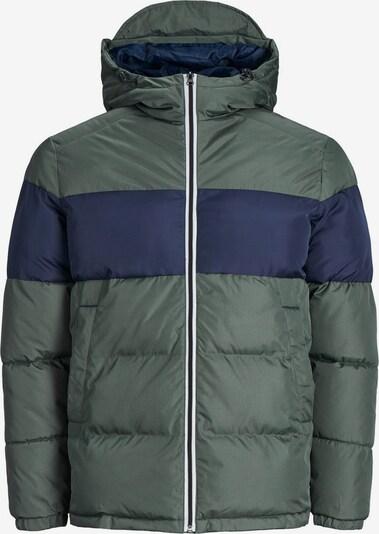 Produkt Jacke in dunkelblau / khaki, Produktansicht