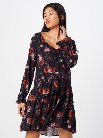 tigha Obleka 'Paulila Flower' | črna barva: Frontalni pogled