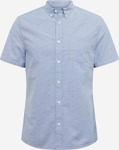 BURTON MENSWEAR LONDON Overhemd 'SS LT BLU TWIN OXF' in de kleur Blauw, Productweergave