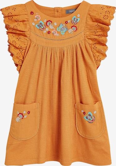 NEXT Kleid in mischfarben / dunkelorange, Produktansicht