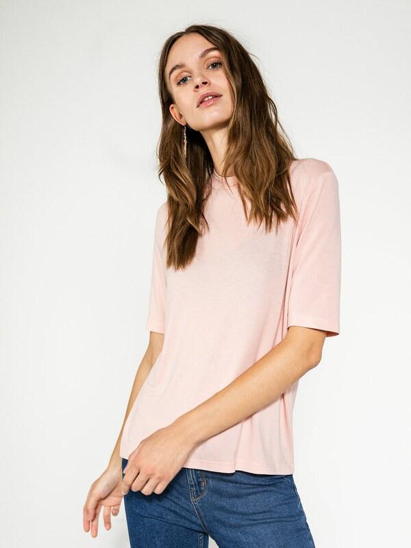 PIECES T-Shirt mit Stehkragen