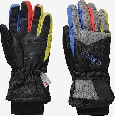 CMP Skihandschuhe in mischfarben / schwarz, Produktansicht