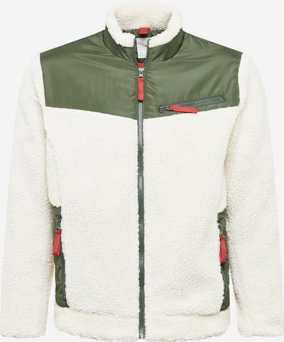 minimum Jacke 'Loen' in grün / weiß, Produktansicht
