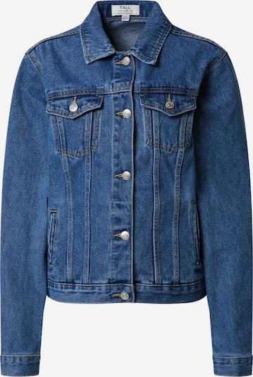 Dorothy Perkins (Tall) Prehodna jakna 'INDIGO DENIM JACKET' | indigo barva, Prikaz izdelka