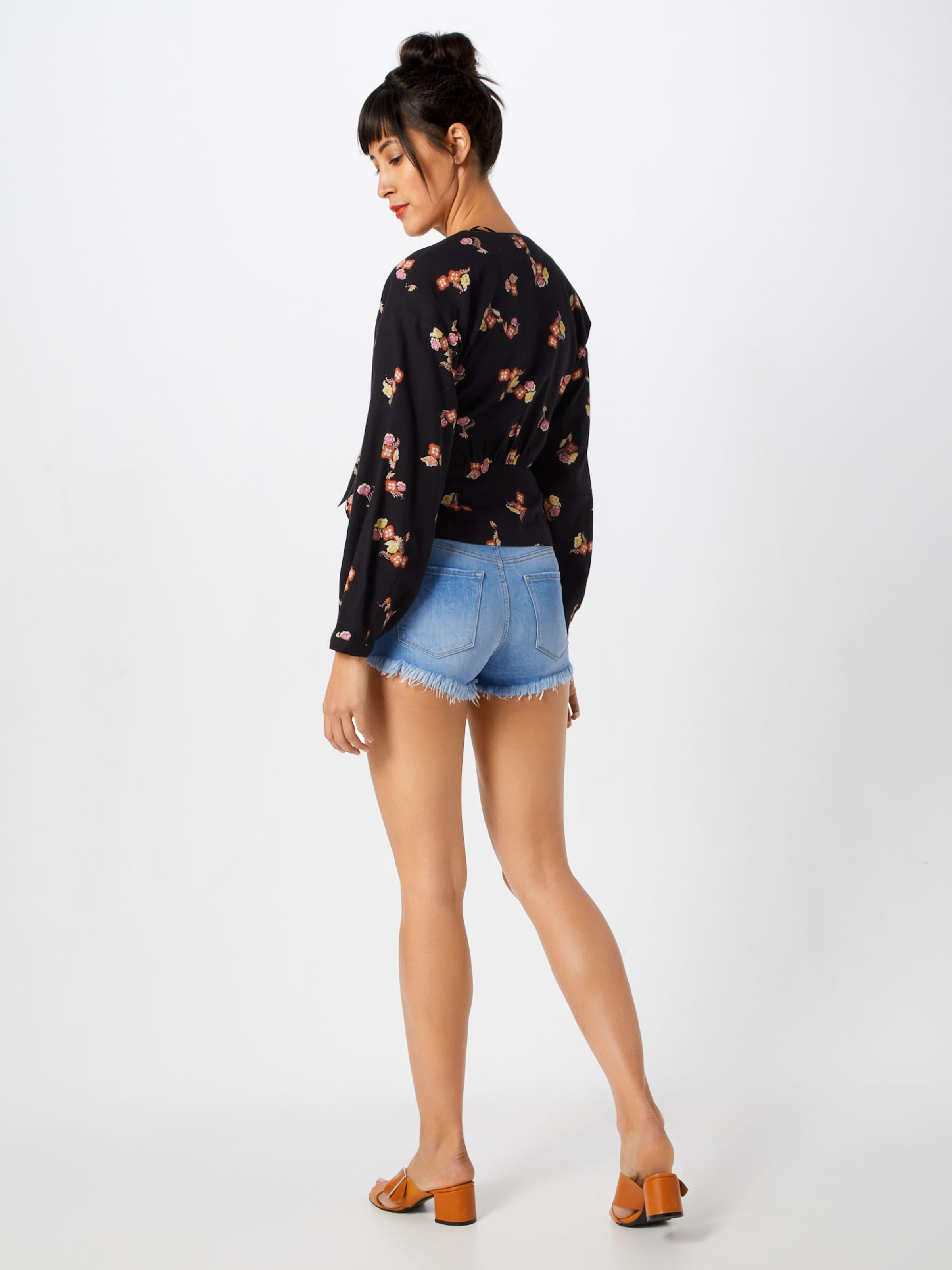 Shorts In Ltb Denim 'pamela' Blue 8vnOmN0w