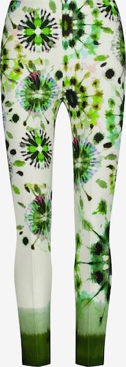 Nicowa Hose 'INIDE' in grün / mischfarben, Produktansicht