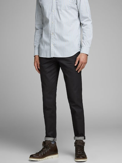JACK & JONES Jeans 'ACE MILTON JOS 370' in black denim: Frontalansicht