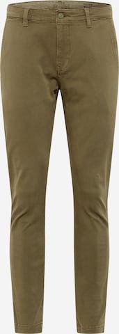 LEVI'S Chino-püksid 'SLIM TAPER CHINO II', värv roheline