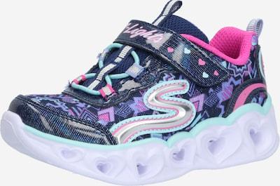 SKECHERS Schuhe 'HEART' in navy / pink, Produktansicht