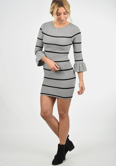 JACQUELINE de YONG Strickkleid 'Rike' in grau, Modelansicht