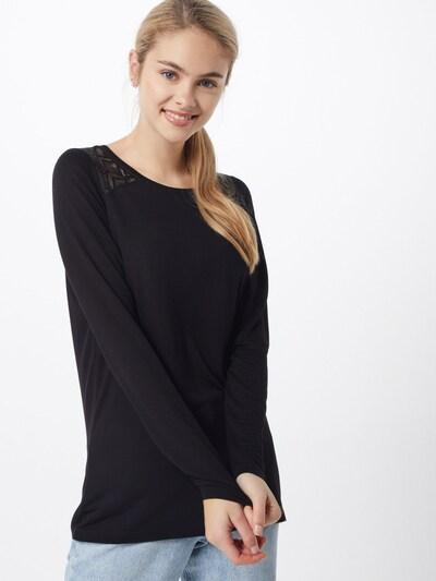 ONLY Shirt 'ONLNICOLE' in schwarz: Frontalansicht