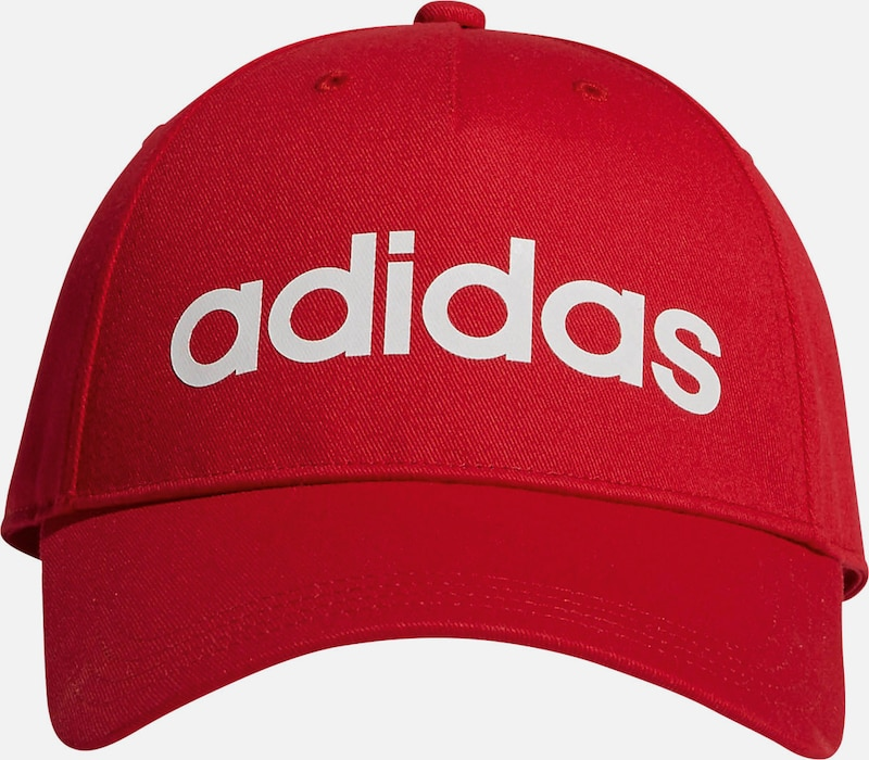 ADIDAS PERFORMANCE Cap 'Daily' in rot, Produktansicht