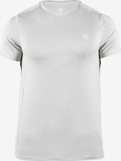 MOROTAI T-Shirt 'Mesh Tee' in grau / weiß, Produktansicht