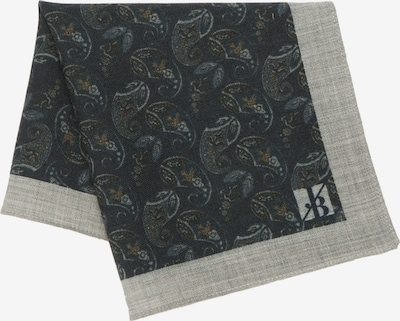 Jacques Britt Einstecktuch 'Custom Fit' in nachtblau / graumeliert, Produktansicht