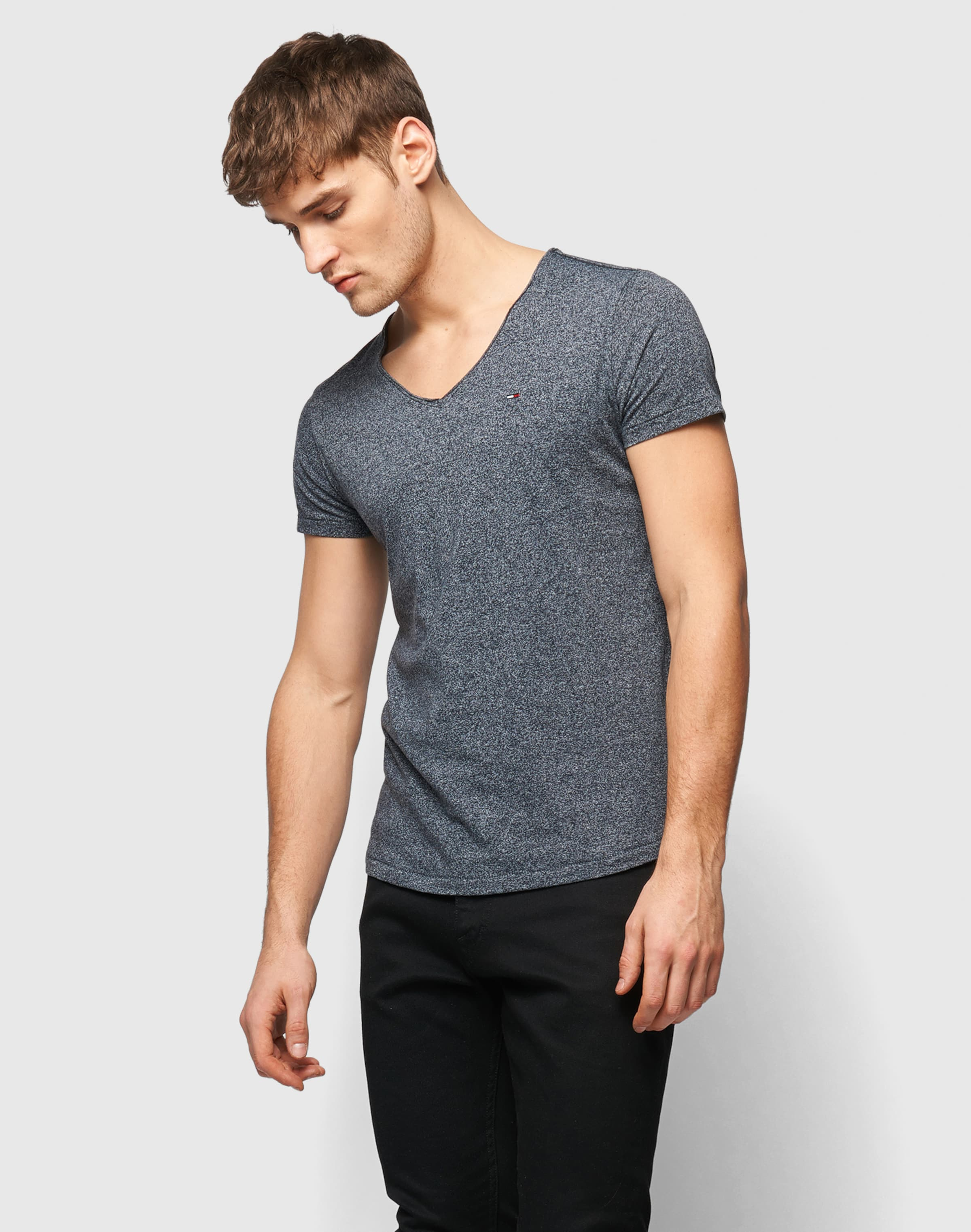 Tommy Jeans T-Shirt in Melange-Optik Visa-Zahlung Verkauf Online Rabatt Günstiger Preis 2018 Günstig Online Rabatt Footlocker Verkauf Wählen Eine Beste ZZQDvGep4